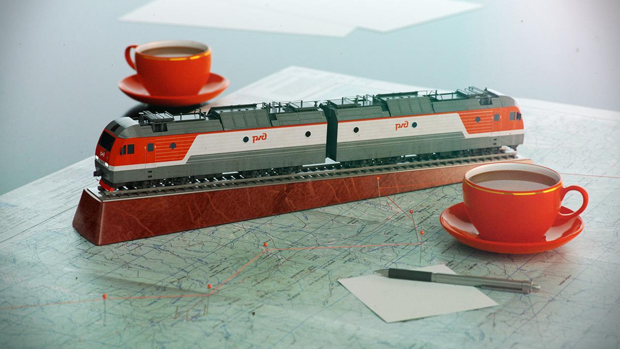 Russian model train videos